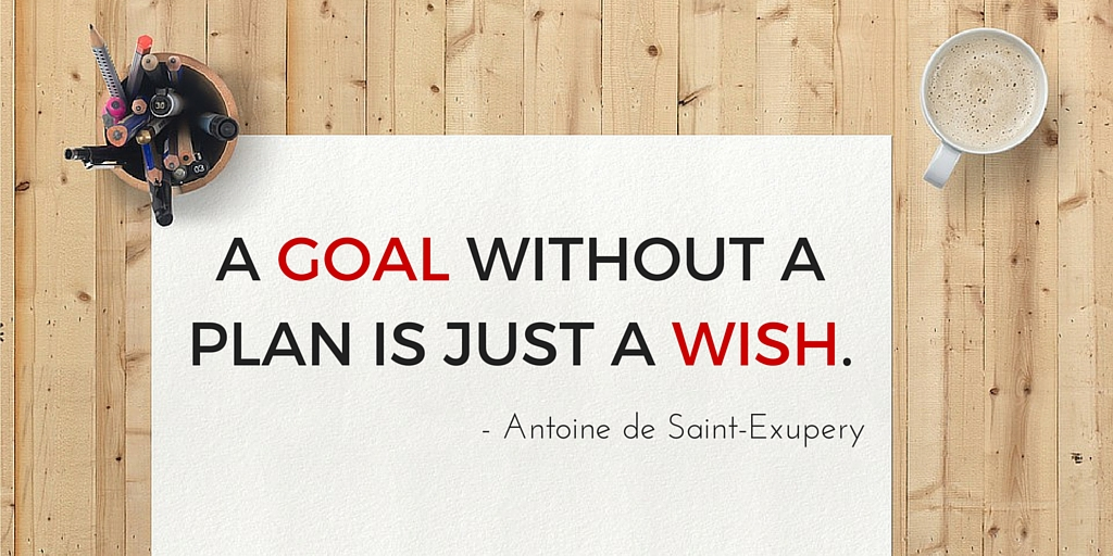 Ordinaire A Goal Without A Plan Is A Wish