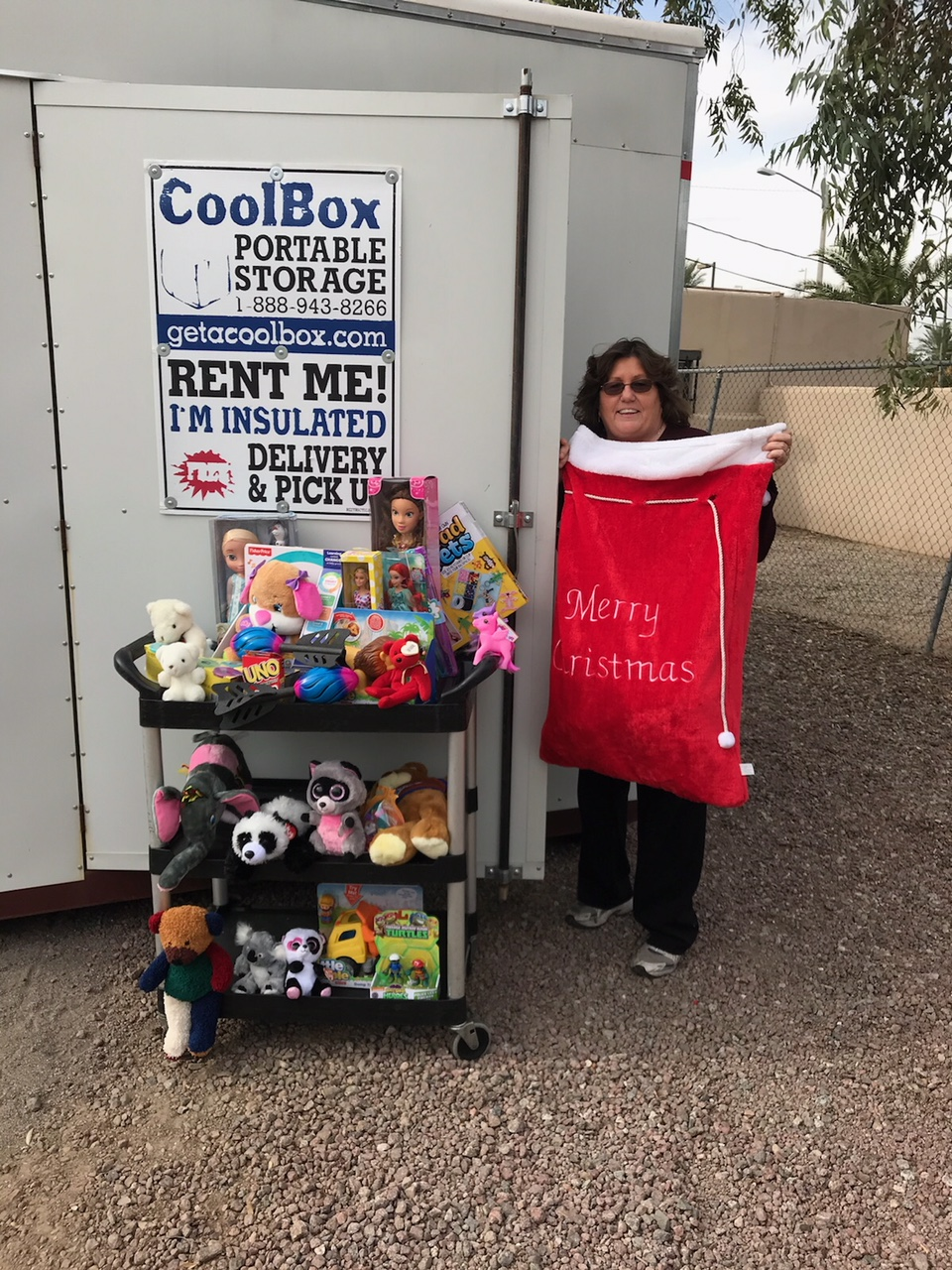 Cool Box Gives To Charity