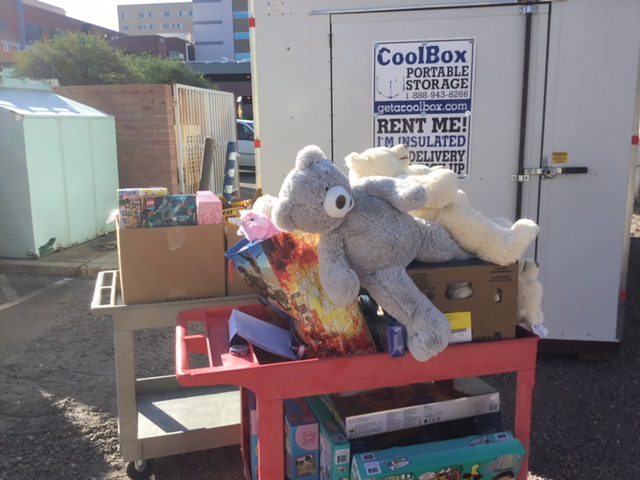 Cool Box Donates To Banner Children's Toy Drive