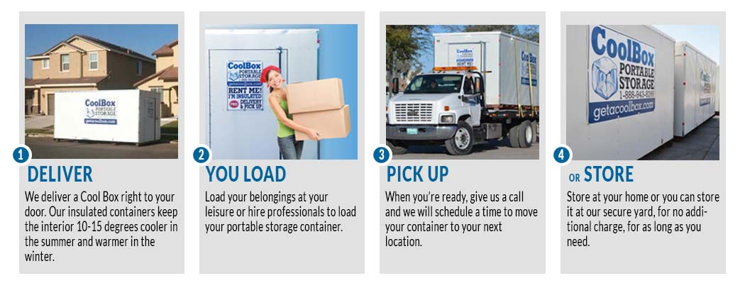 Moving & Storage Company   Cool Box Portable Storage