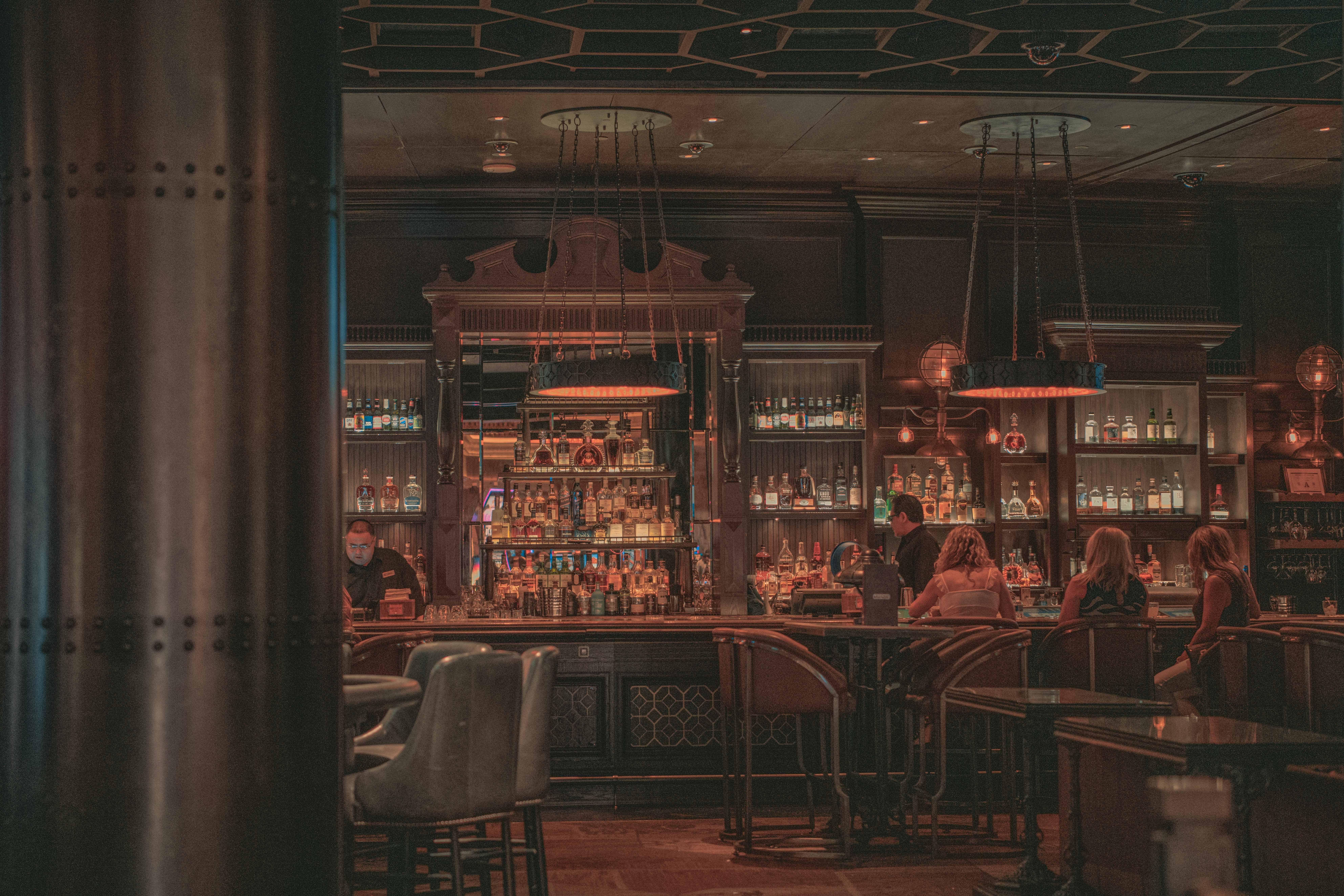 Restaurant scene in Las Vegas