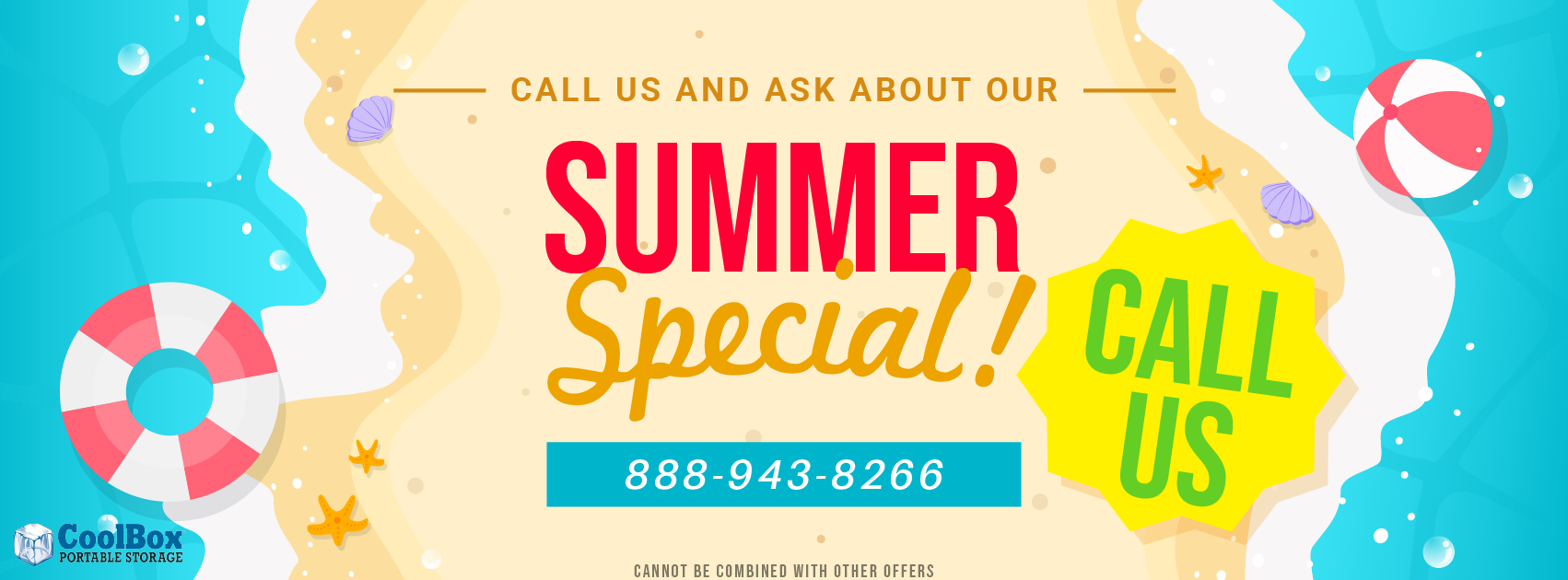 Summer Special for Portable Storage Units Sale