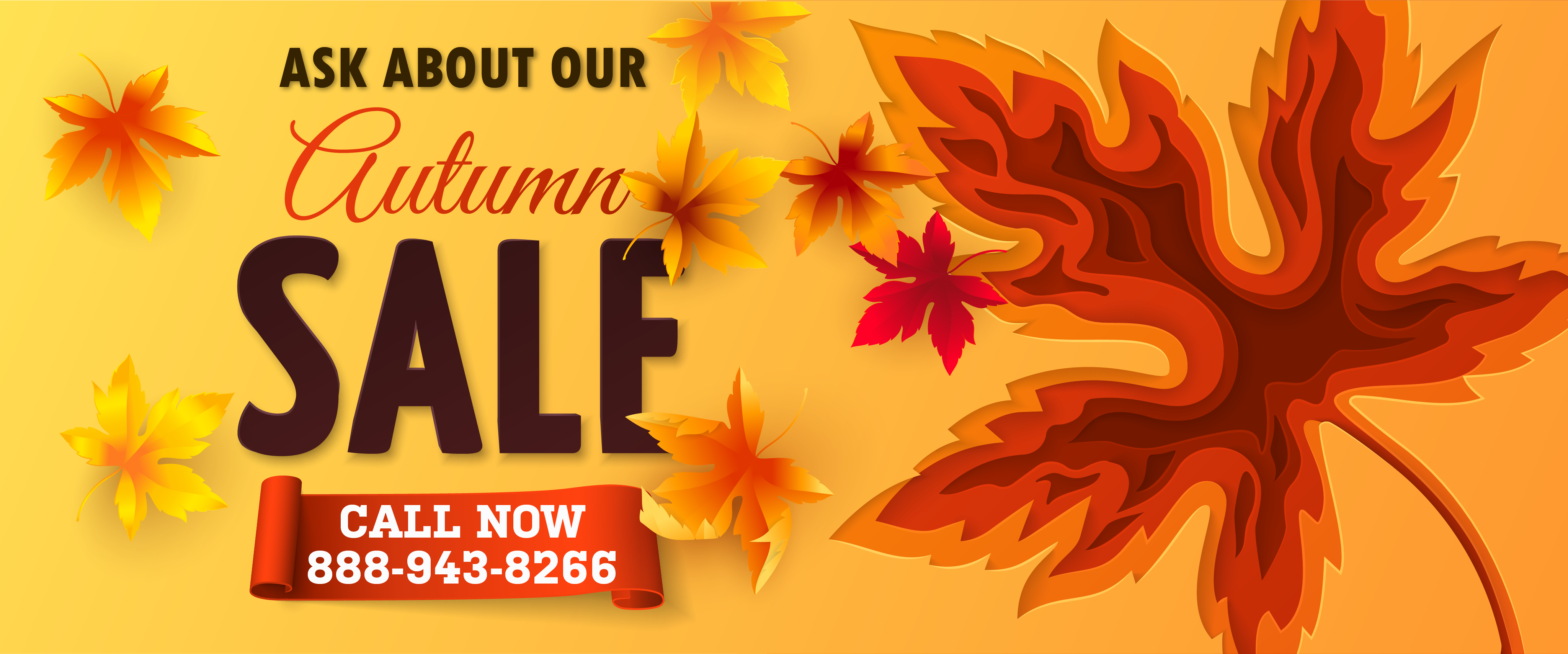 Fall Special - Autumn Sale on Portable Storage
